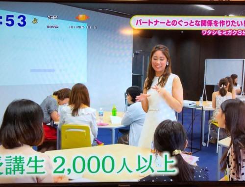 日本テレビ系中京テレビ「ぐっと」に出演しました。(2018.8.13)
